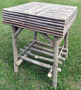 Item# 314 - Square End Table
