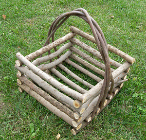 Item# 504 - Square Basket with Straight Sides