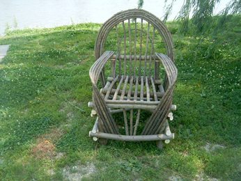 Item# 204 - Curve Arm Chair
