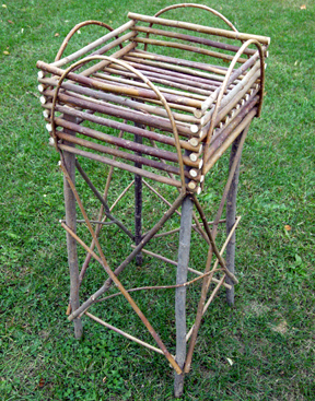 Item# 512 - Plant Stand-4 legs/4 sides