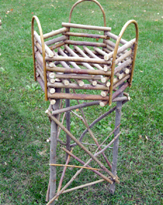Item# 514 - Plant Stand-3 legs/6 sides