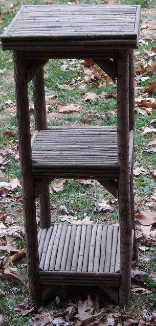 Item# 518 - Plant Stand-- 3 Tier