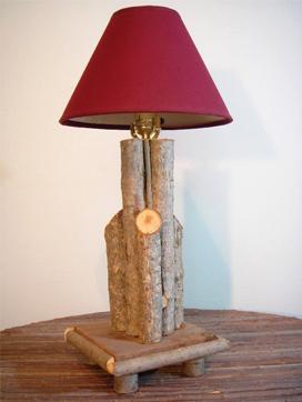 Item# 611 - Twig Fountain Lamp